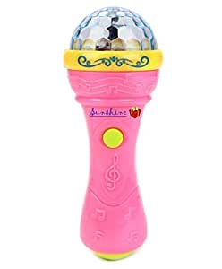 Toyshine Fashion Music Microphone with 3D Lights