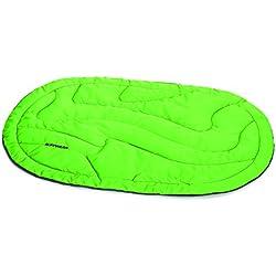 Ruffwear Matelas de camping/randonnée pour chien, Taille unique – Convient à la plupart des chiens, Vert (Meadow Green), Highlands Bed, 10401-345M