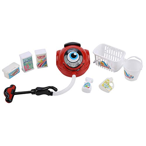 Zouminy Escenas de la Vida Simulación Aparato electrodoméstico Niños Cocina Juego de Juguetes(Vacuum Cleaner Set)