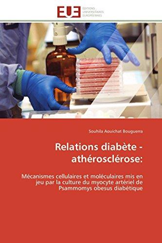 Relations diabète-athérosclérose