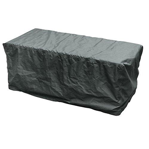 greemotion 127184 Abdeckung für Kissenbox - Wetterschutzhaube für Outdoor-Möbel, 126x55x51cm