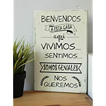 Amazon Es Cuadros Con Frases Vintage