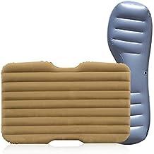 Cama Inflable Coche Koyoso Cama Hinchable Colchón de Aire Resto de Asiento Trasero del Coche Cama Portable con Almohada para Viaje