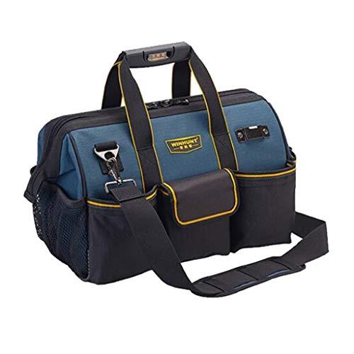FLAMEER Werkzeugtasche Montagetasche Werkzeugbox Werkzeugkasten, wasserdicht und schlagfest - 16Zoll