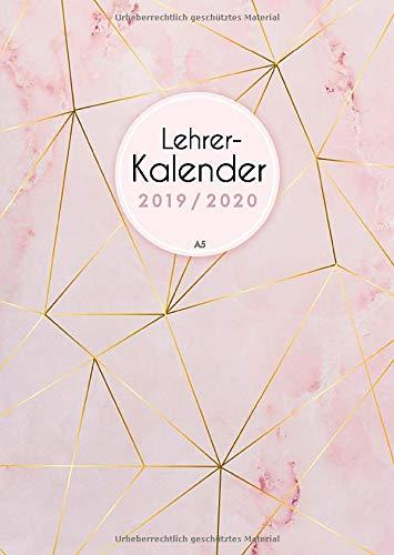 Lehrerkalender 2019 2020 A5: Schulplaner 2019 2020 für die Unterrichtsvorbereitung - Planer ideal als Lehrer Geschenk für Lehrerinnen und Lehrer, rosa ... kostenlosen Vorlagen  zum Ausdrucken, Band 1)