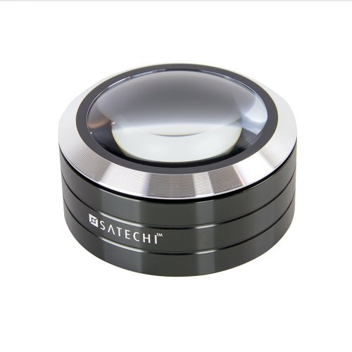 Satechi ReadMate Lupa de escritorio LED (Negro)