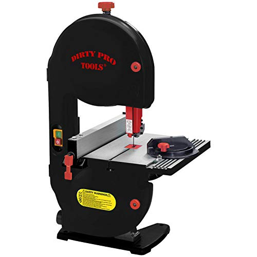 Dirty Pro ToolsTM Professional Band Saw 350w Motor 190mm Cutting Width Table Saw Bandsaw Bench