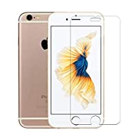 Screen Protector Compatible with iPhone 8 iPhone 7, [Pack of 3] HD 3D Touch Tempered Glass Film 9H Hardness 2.5D Screen Protector Ultra Clear Tempered Glass for iPhone 7/8/6s/6 ...