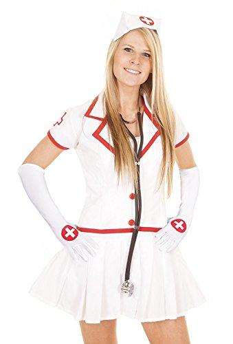 Verkleidung Kostüme Accessoires Handschuhe für die Krankenschwester (Krankenschwester Kostüm Handschuhe)