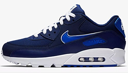 cheap for discount 9c7da d255d Nike Air Max 90 Essential, Chaussures de Running Compétition Homme,  Multicolore (Blue Void