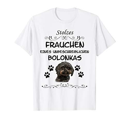 Stolzes Frauchen eines Bolonka Hund Hunde Shirt