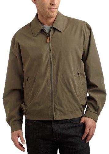 london-fog-mens-tall-auburn-zip-front-light-mesh-lined-golf-jacket-olive-x-large