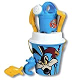 SET MARE WILLY IL COYOTE E BEEP BEEP SECCHIELLO ANNAFFIATOIO PISCINA IDEA REGALO ANG122