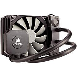 Corsair Hydro H45 All-in-One Liquid CPU Cooler Sistema di Raffreddamento a Liquido, Radiatore da 120 mm, Ventola Singola SP120 PWM, Nero