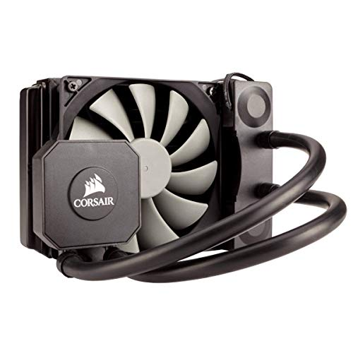Corsair Hydro H100i v2 All-in-One Liquid CPU Cooler Sistema di Raffreddamento a Liquido, Radiatore da 240 mm, Due Ventole SP120 PWM, Nero