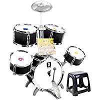 4bcec3bc97a30 LIUFS-Tambor Tambor De Doble Cara Los Niños Baten El Tambor Instrumento  Musical De Juguete