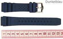 Original Citizen Correa de Reloj caucho oscuroazul 20mm para Promaster Diver NY0040-17LE