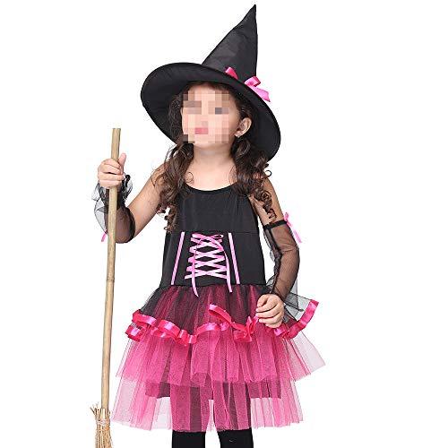 kMOoz Halloween Kostüm,Outfit Für Halloween Fasching Karneval Halloween Cosplay Horror Kostüm,Kinder Tanz Kostüme Kostüm Prinzessin Kleid Halloween Cosplay Kostüm (Tanz Kostüm Größentabelle)