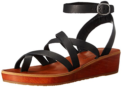 lucky-brand-honeyy-damen-us-65-schwarz-gladiator-sandale