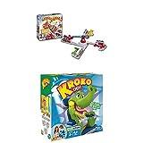 Hasbro Spiele 15692398 - Looping Louie, Vorschulspiel + Kroko Doc, Geschicklichkeitsspiel, Kinderspiel ab 4 Jahren