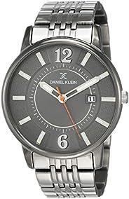 Daniel Klein Analog Grey Dial Men's Watch-DK121
