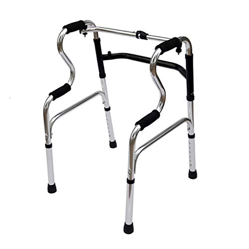 Ren Chang Jia Shi Pin Firm Heber & Aufstehhilfen Aluminiumlegierungs-gehende Hilfsmittel, die Doppelten verbogenen Wanderer-Handlauf-Stand-Acht justierbares 44 * 42 * 71cm Falten