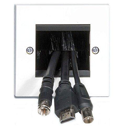 Kabel Eintritt Austritt Pinsel Unterputzdose Für Wand Ausgang UK Einzelne Fach