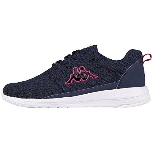 kappa-speed-ii-scarpe-da-ginnastica-basse-donna-blu-blau-6722-navy-pink-38