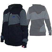 Nike Co de W sprt Inspección FZ Hoody/Mujer Chaqueta Con Capucha De/Sport & Tiempo Libre Top, negro, large