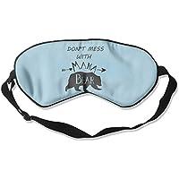 Preisvergleich für Sleep Mask Mama Bear Eye Cover Blackout Eye Masks,Soothing Puffy Eyes,Dark Circles,Stress,Breathable Blindfold...