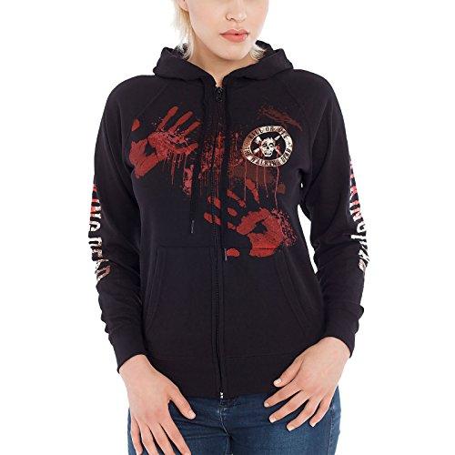Caminar señoras de la chaqueta con capucha muertas matar o morir con capucha para la serie de negro - M