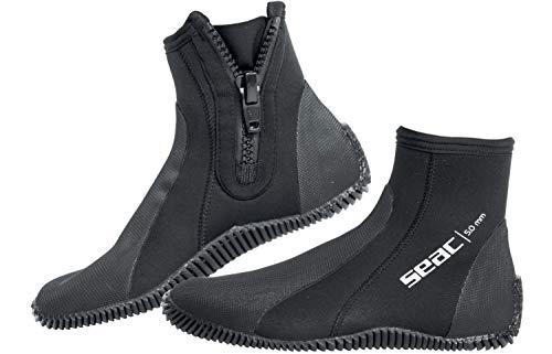 Seac Regular Escarpines estándar, Adultos Unisex, Negro, L