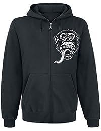 Gas Monkey Garage Dallas Texas Hooded Zip Black
