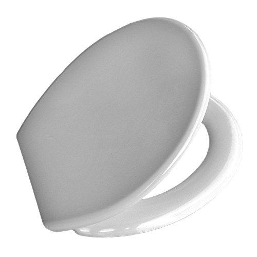 Design Couvercle Abattant de WC automatique Blanc Montage rapide