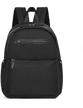 ECOSUSI Nylon Rucksackhandtaschen Damen Tagesrucksäcke City Rucksack Daypack