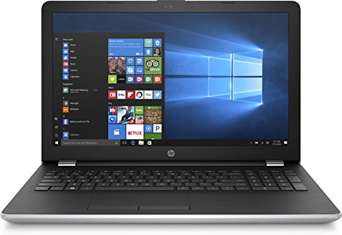 HP 15-bs108ng (15,6 Zoll/Full HD) Laptop (Intel Core i5-8250U, 1 TB HDD, 128 GB SSD, 8 GB RAM, AMD Radeon 520 2GB, DVD-RW, Windows 10 Home) schwarz/silber (Laptop I5 15 Hp Zoll)