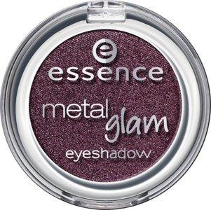 Essence Metal Glam eyeshadow, Ombre à paupières avec texture métallique pour un effet intense brillant de couleur n°24 let's go burgundy, 2.7 g, 0.09 oz. Tenue longue durée.