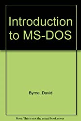 Introduction to MS-DOS