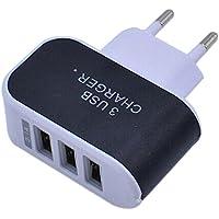 USB Charger - SODIAL(R)3.1A tripla porta USB Caricabatteria AC Caricatore