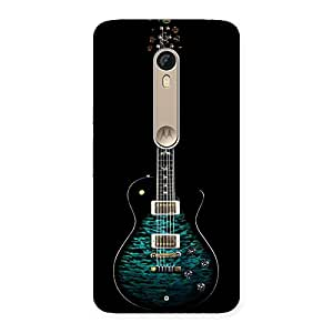 Gorgeous Greenish Print Guitar Back Case Cover for Motorola Moto X Style
