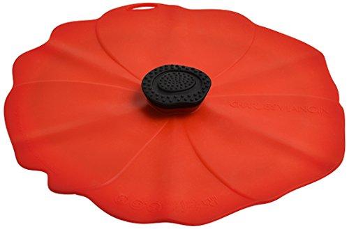 Charles Viancin Poppy Silikon Deckel 2904eu 15cm, rot