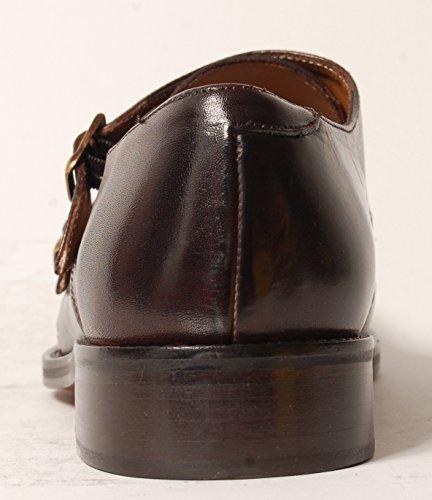 Antica Calzoleria Campana Schuhe | Mod. 1506 | Monkstrap | Kalbsleder | dunkelbraun, (dunkel-) blau oder schwarz Dunkelbraun