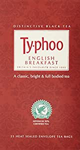 Typhoo English Breakfast Tea, 25 Tea Bags