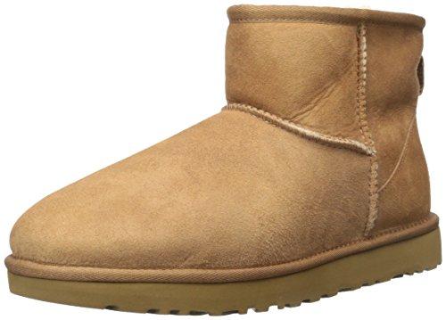 Clearance Boots Ugg Frauen (UGG Damen Mini Classic Hohe Sneakers, Braun (Chestnut) 40 EU)