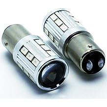 NS LEDPremium 2X Bombillas LED BAY15D P21/5W Premium CANBUS Seat Ibiza IV 6J 6P