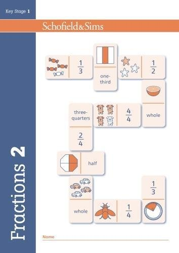 Fractions, Decimals and Percentages Book 2 (Year 2, Ages 6-7)