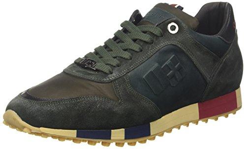 DAcquasparta Cosimo, Sneaker a Collo Basso Uomo Verde (Petrolio)