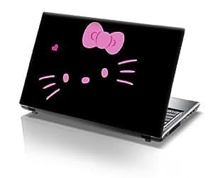 "15,6"" Autocollants pour ordinateur portable hello kitty"