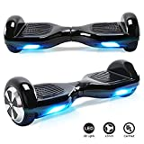 TOEU Hoverboard with LED light, 6.5 inch Self Balancing Electric Scooter, Segway