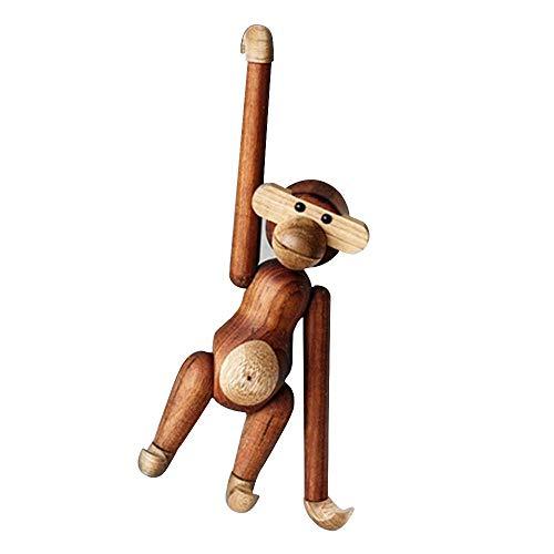 GoodFaith Holzfigur AFFE, Affen-Spielzeug, Basteln, Ornamente für Heimdekoration, Geburtstagsgeschenk